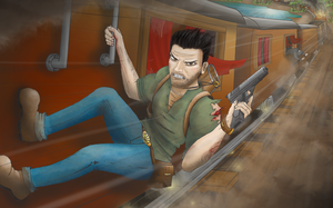 Uncharted 2: Drake by supman098