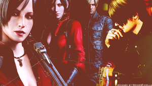Leon x Ada Wallpaper by AlbertXExcellaLover