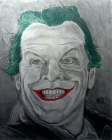 Juan A. Galeote Jack Nicholson The Joker by Club-Batman