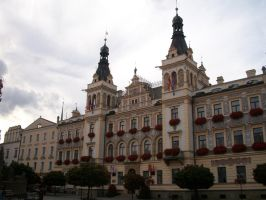 Town Hall in Pardubice by Qymaen