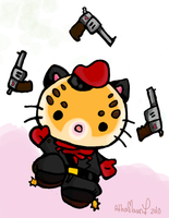 Hello Ocelot by Niuniente