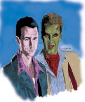 The Fallen Angels:Doyle and Lorne by StevenWilcox
