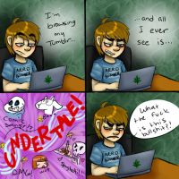I Don't Browse Tumblr For a Reason by MC-Ash-Tray