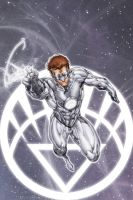 White Lantern Hal Jordan by drewdown1976