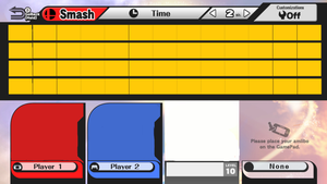 Super Smash Bros Wii U Character Roster Base by MathewSwiftMLP