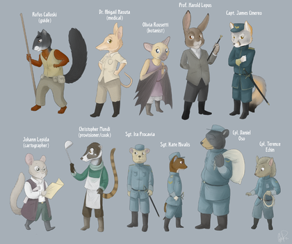Apple and Pear - Characters by twapa