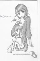 Minerva and Shiori 03 by DragoonLee
