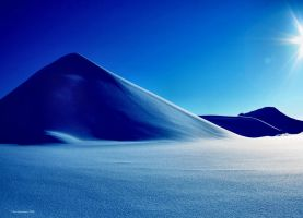 desert snow by KariLiimatainen