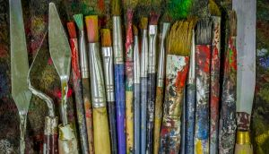 Paint Brushes by Kalvintakaa