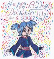 B-Day 2014: Diabolikal-Lily by gilster262