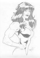 She-Hulk 8 by Rafael0381