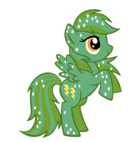 MLP Blind bag card: 15 Sassaflash by Names-Tailz