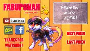 Youtube Outro Pic finished XD by Ponacho