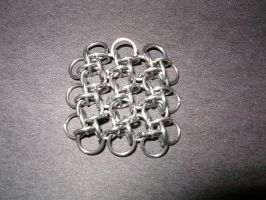 Fireman's Hold - Sheet Weave by gnomeofmaille