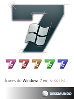 Windows 7 Logo Icon by deskmundo