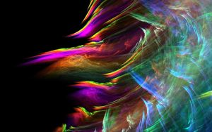 Rainbow Color Abstract-wave by sakurasensie14