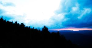 Sunset Winds and Snowshoe by Norble
