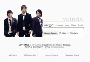 w-inds. Startpage by AwesomeStart