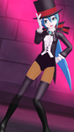 MMD Miku(88) -Magician Style- by 88-3