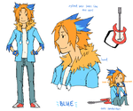 human Blue reference by Blue-Fox