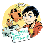 Billy, Cyborg and... by Sii-SEN