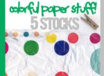 colorful paper stuff by timedrawer7