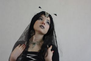 STOCK - Like a moth to a flame - goth by Apsara-Stock