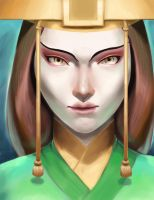 Avatar Kyoshi by angel-ico