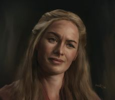 Game of Thrones - Cersei by DaaRia