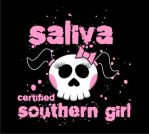 SALIVA - SOUTHERN GIRL TEE by MENTAL-images