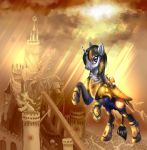 Solar knight by Trojan-Pony