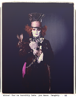 The Mad Hatter. by ohindiegirl