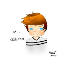Louis Tommo, (Drawn w/ Mouse, so its like so bad.) by RetardedEmo