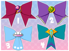 Bow Pack Series 1: CLOSED by PrettyAdoptDesigners