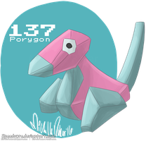 137: Porygon by Speedvore