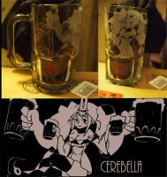 SkullGirls Mugs preview: Cerebella by lisu-c