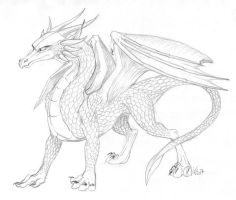 SILVER GOLDEN DRAGON REQUEST by victortky