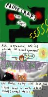 another minecraft comic... by LocoTheDrawfag