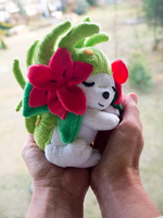 Shaymin inspired plush