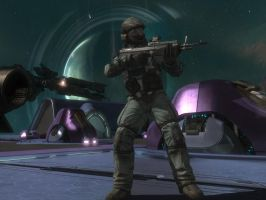 halo reach: space trooper by purpledragon104