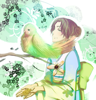 Tenten Bird Beautiful by BayneezOne