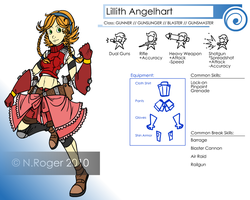 DS: Lillith Angelhart by The-Knick