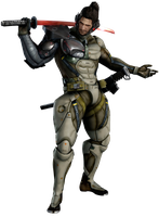 Metal Gear Rising Revengeance - Samuel by IvanCEs