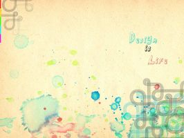 HYB Watercolors wallpapers by fiyah-gfx