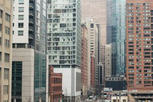 Typical Chicago Morning by nickcomito