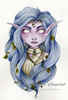 Smoll Tyrande Whisperwind by Mimssi