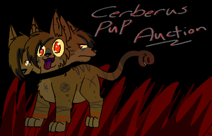 Cerberus Pup Adopt Auction! *Over* by MissKittens