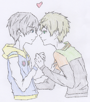 MakoHaru: Young Love by AthenrilTheThief