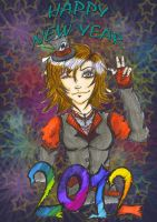 HAPPY NEW YEAR 2012 by JadeTheAngle777
