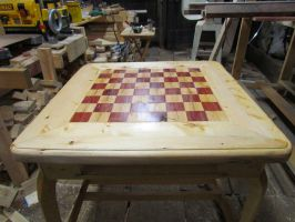 Chess Table by Lupas-Deva